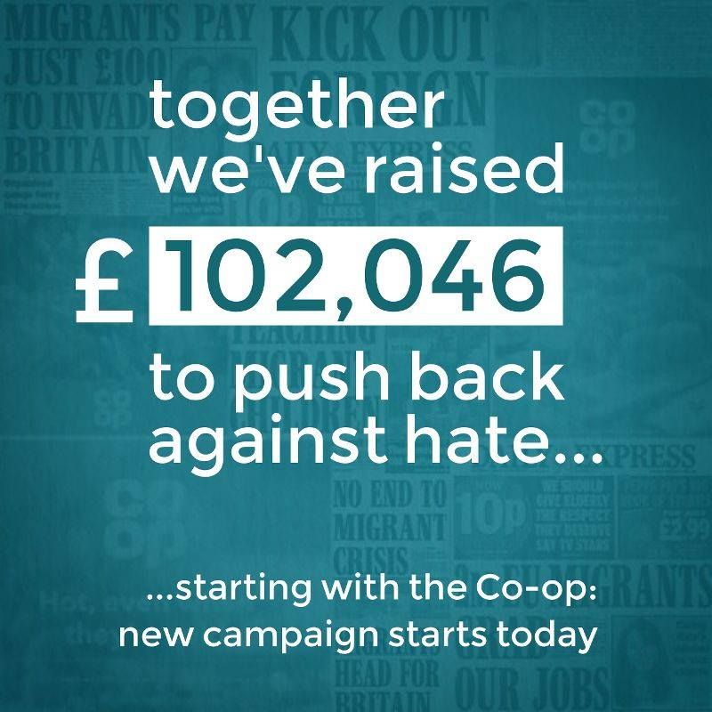 Crowdfunder - we've raised £102,046