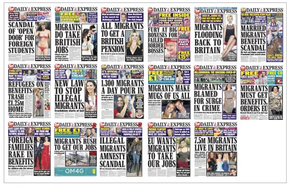 Daily Express headlines