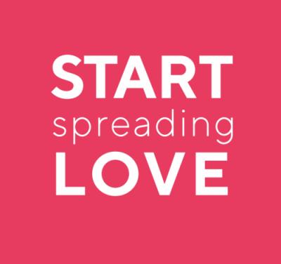 Start Spreading Love logo