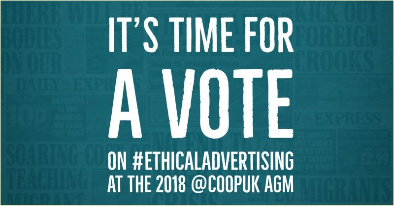 It's time for a vote at the Co-op AGM